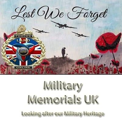Military Memorials UK